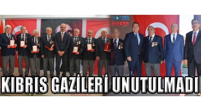 KIBRIS GAZİLERİ UNUTULMADI