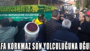 Mustafa Korkmaz Son Yolculuğuna Uğurlandı !