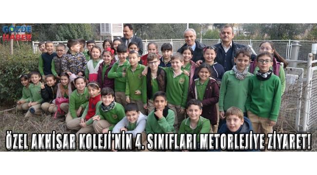 Özel Akhisar Koleji'nin 4. sınıfları metorlejiye ziyaret!