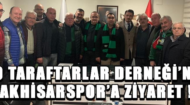 1970 Taraftarlar Derneği'nden Akhisarspor'a Ziyaret !