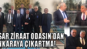 AKHİSAR ZİRAAT ODASIN'DAN ANKARAYA ÇIKARTMA!