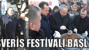 ALIŞVERİŞ FESTİVALİ BAŞLADI!