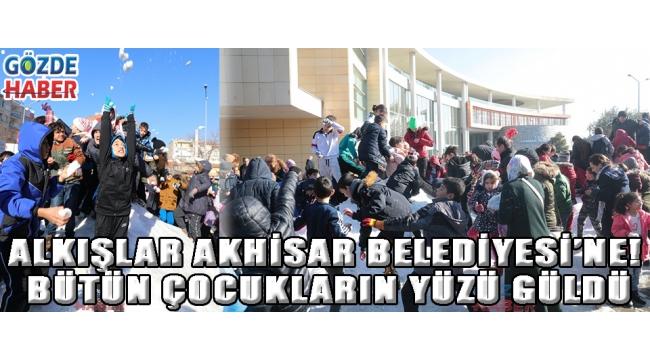 Alkışlar Akhisar Belediyesi'ne! Bütün çocukların yüzü güldü