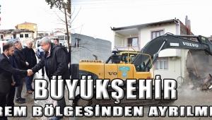 Büyükşehir Deprem Bölgesinden Ayrılmıyor