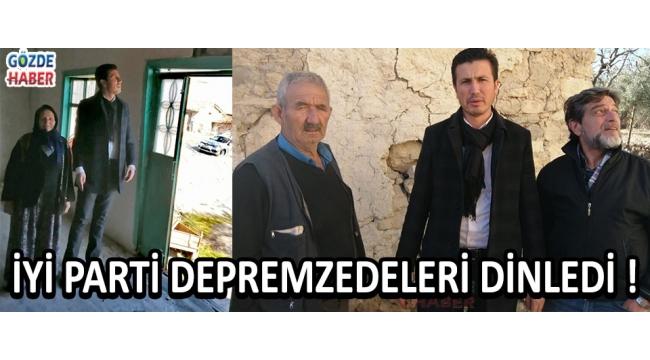 İYİ Parti Depremzedeleri Dinledi !