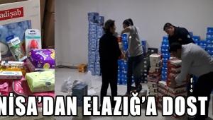 Manisa'dan Elazığ'a Dost Eli