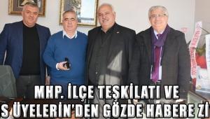 MHP. İlçe Teşkilatı ve Meclis Üyelerin'den Gözde Habere Ziyaret