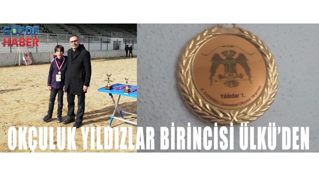 OKÇULUK YILDIZLAR BİRİNCİSİ ÜLKÜ'DEN