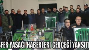 """""""TRANSFER YASAĞI HABERLERİ GERÇEĞİ YANSITMIYOR"""""""