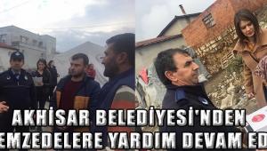 Akhisar Belediyesi'nden depremzedelere yardım devam ediyor