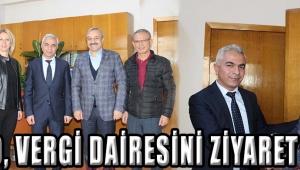 ATSO, Vergi Dairesini Ziyaret Etti