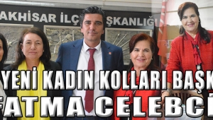 CHP. Yeni Kadın Kolları Başkanı Fatma Celebci