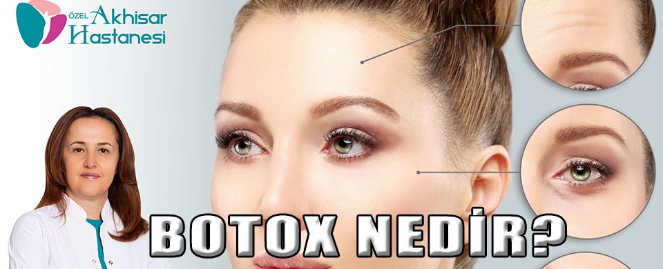 Özel Akhisar Hastanesi Dermatoloji Uzmanı Uzm. Dr. Ruhser HAROVA Botox Hakkında Bilgilendiriyor