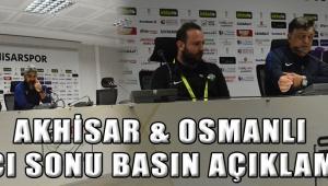 Akhisar & Osmanlı Maçı Sonu Basın Açıklaması