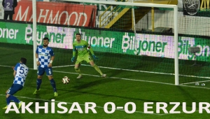 Akhisar 0 - 0 Erzurum