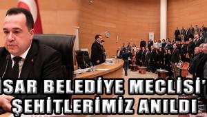 Akhisar Belediye Meclisi'nde Şehitlerimiz Anıldı
