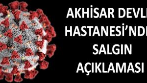 Akhisar Devlet Hastanesi'nden Salgın Açıklaması !