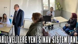 Akhisarlı Velilere Yeni Sınav Sistemi Anlatıldı!