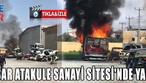 Atukule Sanayi Sitesinde Yangın!