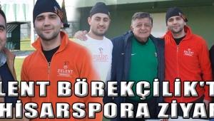 Bülent Börekçilik'ten Akhisarspora ZİYARET
