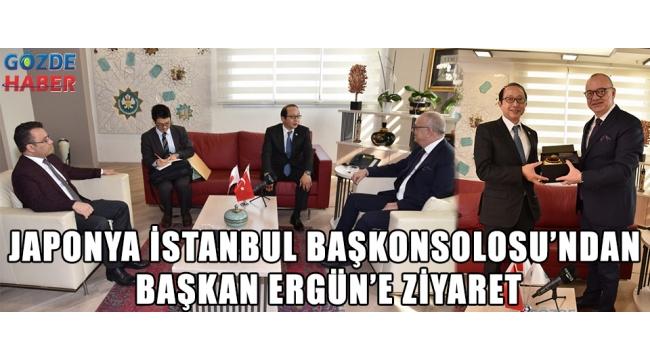 Japonya İstanbul Başkonsolosu'ndan Başkan Ergün'e Ziyaret