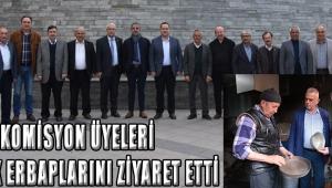 Komisyon Üyeleri Meslek Erbaplarını Ziyaret Etti!