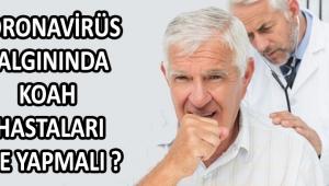 Koronavirüs salgınında KOAH Hastaları Ne Yapmalı