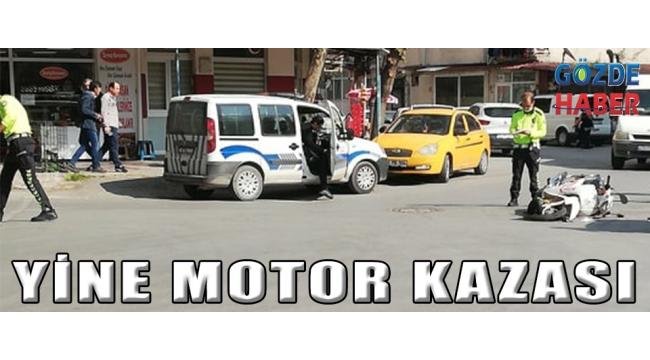 Yine Motor Kazası