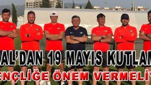 VURAL'DAN 19 MAYIS KUTLAMASI!