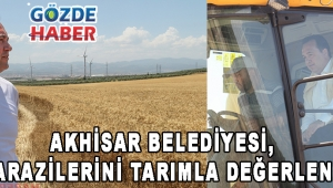 Akhisar Belediyesi, Atıl Arazilerini Tarımla Değerlendirdi!