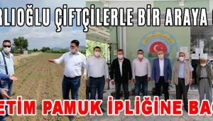 BAKIRLIOĞLU ÇİFTÇİLERLE BİR ARAYA GELDİ!