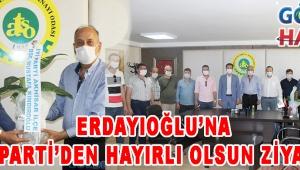 Erdayıoğlu'na İYİ Parti'den Hayırlı Olsun Ziyareti