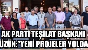 Ak Parti Teşkilat Başkanı Füzün: