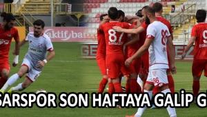 Akhisarspor Son Haftaya Galip Girdi !