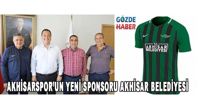 Akhisarspor'un yeni sponsoru Akhisar Belediyesi!