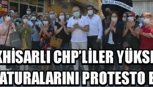 Akhisarlı CHP'liler Yüksek Su Faturalarını Protesto Etti !