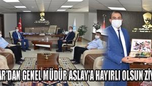 Akhisar'dan Genel Müdür Aslay'a Hayırlı Olsun Ziyareti
