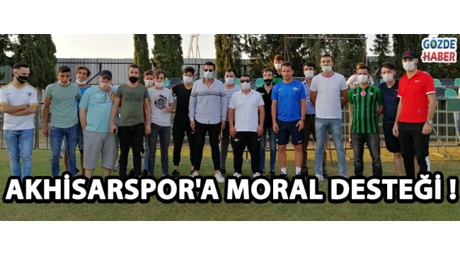 Akhisarspor'a Moral Desteği !