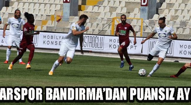Akhisarspor Bandırma'dan Puansız Ayrıldı !