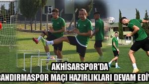 Akhisarspor'da Bandırmaspor Maçı Hazırlıkları Devam Ediyor !