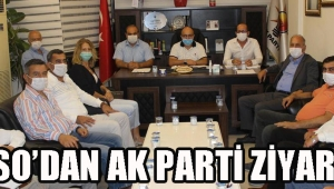 ATSO'dan AK Parti Ziyareti!