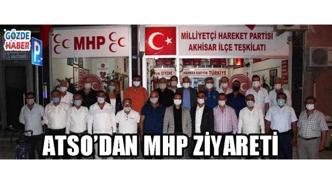ATSO'dan MHP'ye Ziyaret!