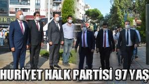 CUMHURİYET HALK PARTİSİ 97 YAŞINDA!