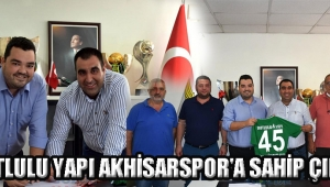 Dutlulu Yapı Akhisarspor'a Sahip Çıktı!