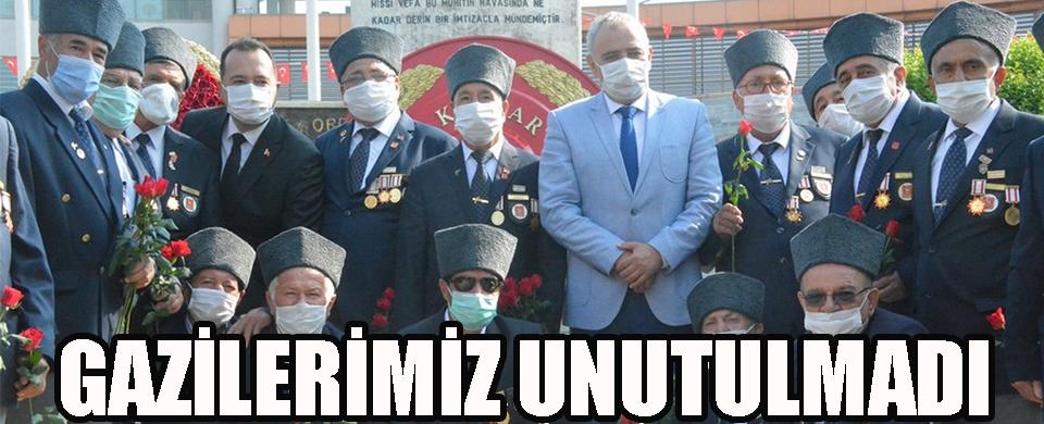 GAZİLERİMİZ UNUTULMADI!