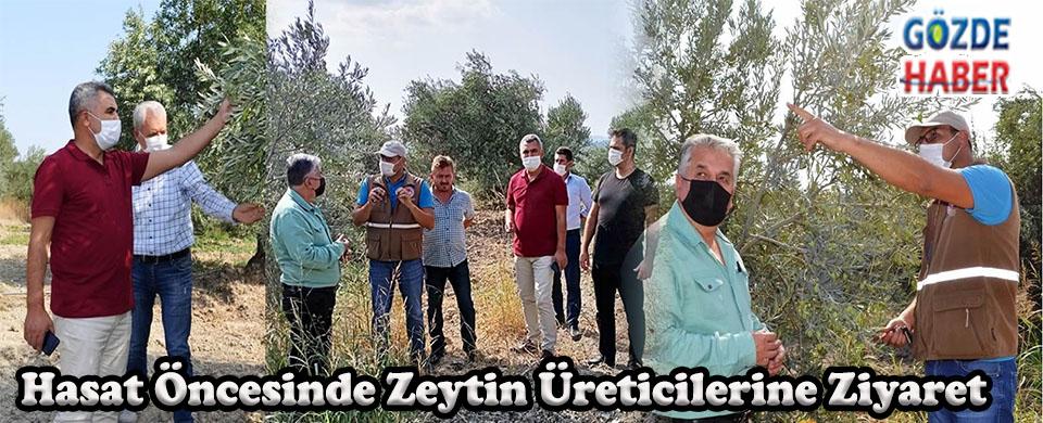 Hasat Öncesinde Zeytin Üreticilerine Ziyaret!