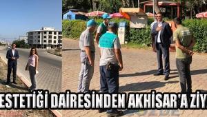 Kent Estetiği Dairesinden Akhisar'a Ziyaret!