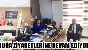 AKBUĞA ZİYARETLERİNE DEVAM EDİYOR !