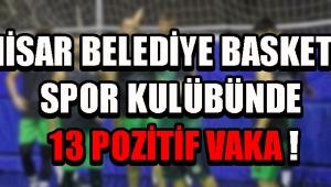 Akhisar Belediye Basketbol Spor Kulübünde 13 Pozitif Vaka !