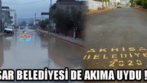 Akhisar Belediyesi de Akıma Uydu !